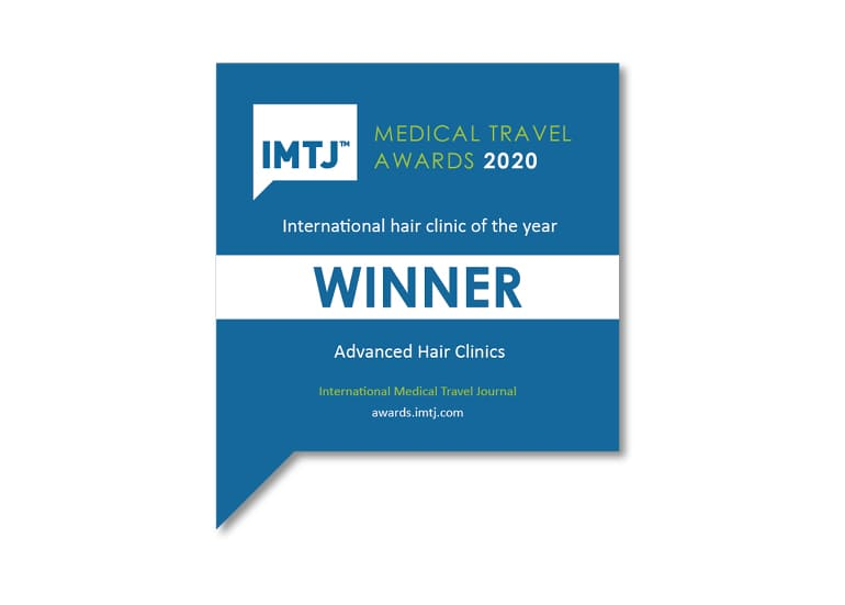 "Η Advanced Hair Clinics βραβευόμενη ως ""International Hair Clinic of the Year 2020"""
